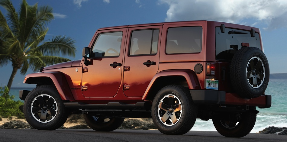2012 jeep wrangler unlimited altitude rear 7 8 view. Cars Review. Best American Auto & Cars Review
