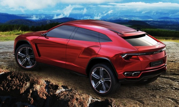 Lamborghini Urus SUV Concept gets early debut via leaked pictures
