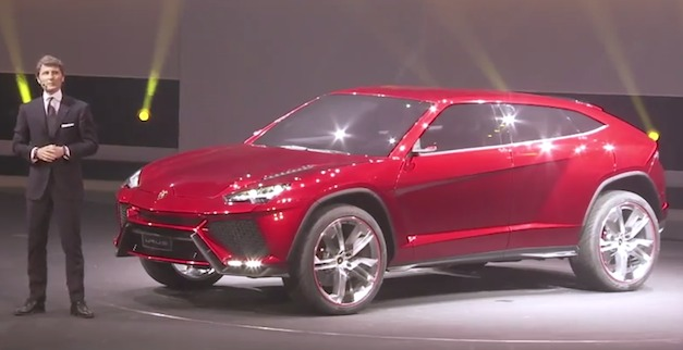 Videos: Lamborghini Urus Concept Beijing press conference