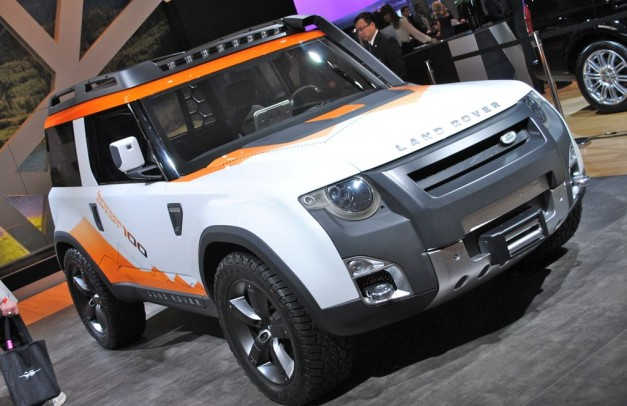 2012 New York: Land Rover DC100 Expedition Concept is perfect for exploring