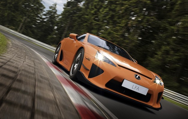 Report: Lexus LFA II in the works with more power, will cost close to $1 million