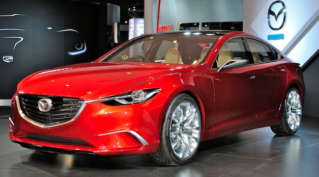 Report: Next Mazda6 will drop V6 and adopt a 4-banger engine lineup