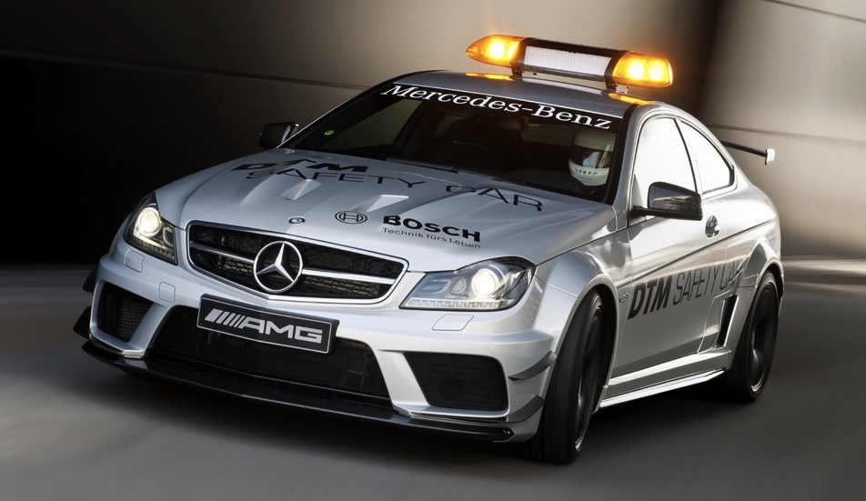 Mercedes C63 AMG Black Series DTM Safety Car