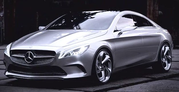 Videos: Get up close and personal with the Mercedes-Benz Concept Style Coupe