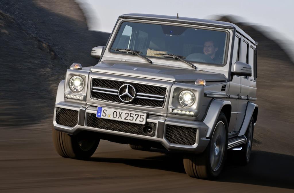 2013 Mercedes-Benz G63 / G65 AMG