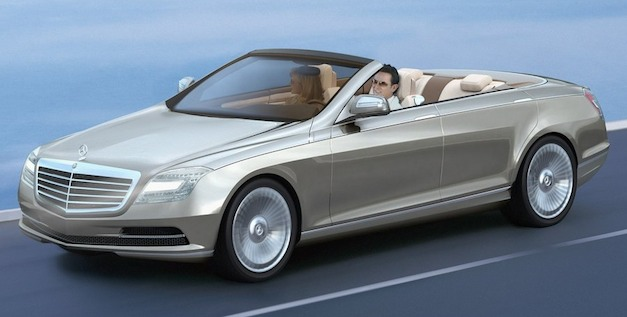 mercedesoceandriveconcept Report: The end of Maybach could give life to a Mercedes S class convertible