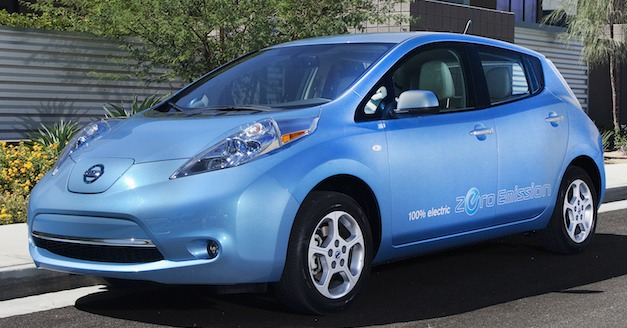 nissanleaf2012blue Report: Nissan expects LEAF sales to double with new Smyrna plant