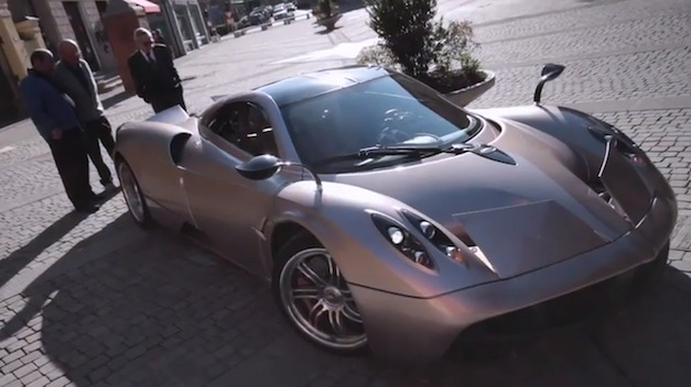 Video: A half-hour-long look inside the world of Pagani