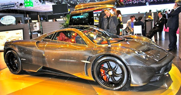 Middle Eastern buyer pays double the price for a Pagani Huayra to be the first owner