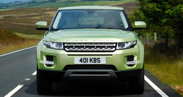 Report: Range Rover Evoque sold out for 2012