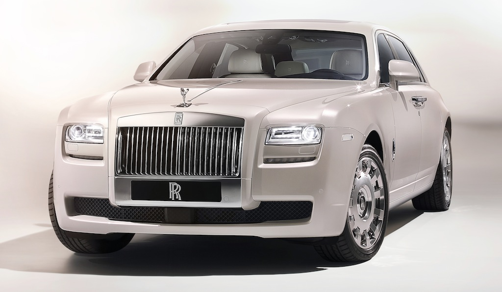 Rolls-Royce Ghost Six Senses Concept