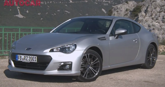 Video: AutoCar take a spin in the 2013 Subaru BRZ