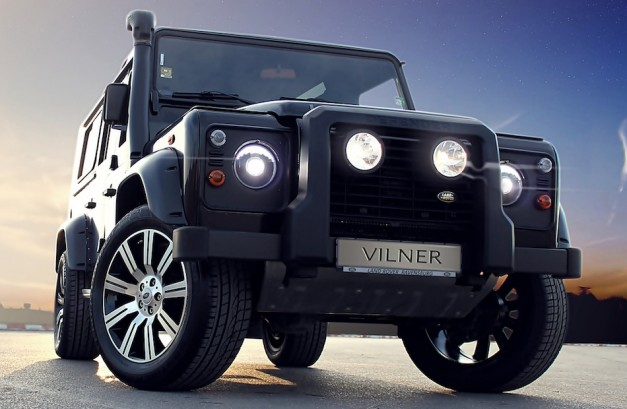 Vilner does the Land Rover Defender again, adds wood