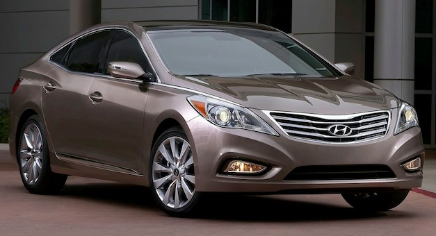 2012 Hyundai Azera earns IIHS&#8217; Top Safety Pick award