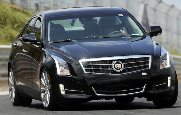 2013 Cadillac ATS 3.6L goes from 0 to 60 mph in under 6 seconds