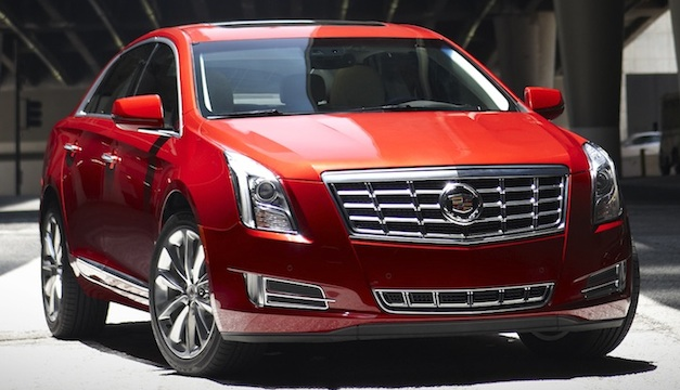 Brand Spankin' New Images: 2013 Cadillac XTS in all its glory