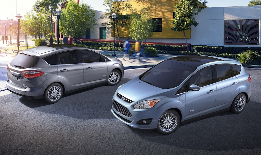 2013 Ford C-Max Hybrid and 2013 Ford C-Max Energi
