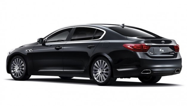 2013kiak9official 07 627x356 Kia confirms North American introduction of the K90