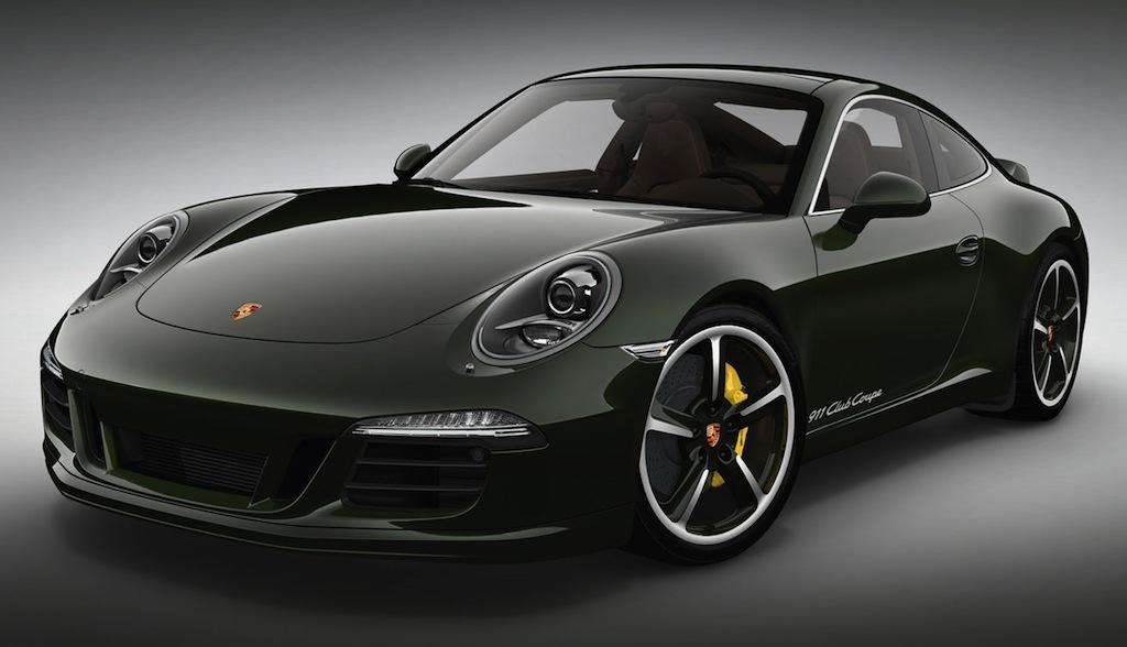 2013 Porsche 911 Club Coupe Front 3/4 View