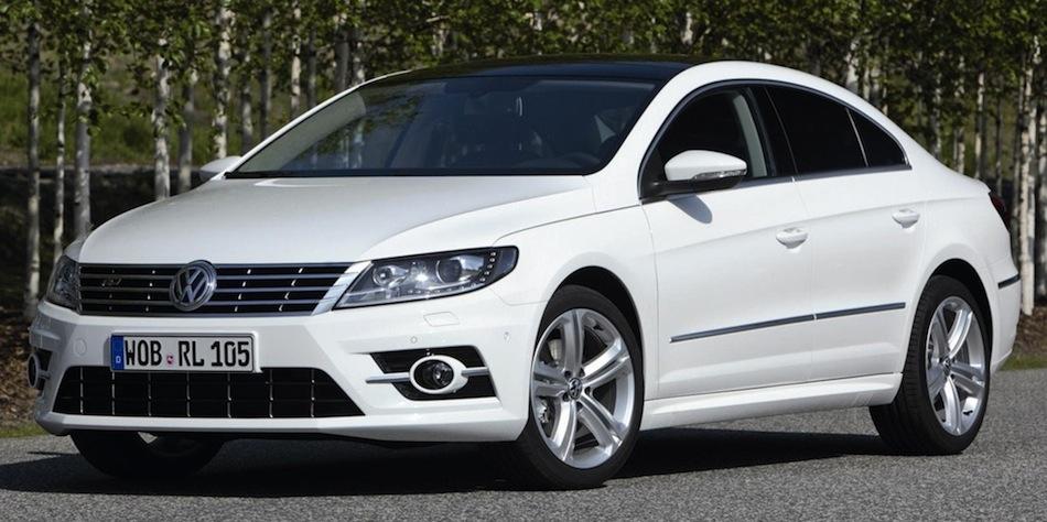 2013 Volkswagen CC R-Line Front 7/8 View
