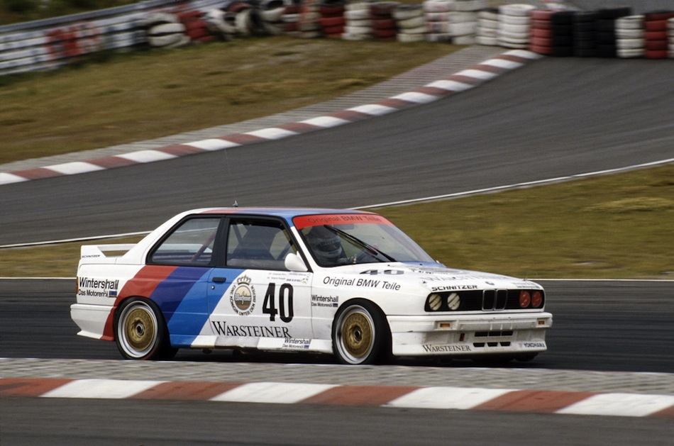 Touring car racing world championship 1987, Roberto Ravaglia in the BMW M3, 4th race Nürburgring