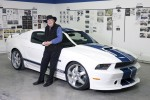 Carroll Shelby and new Mustang GT350