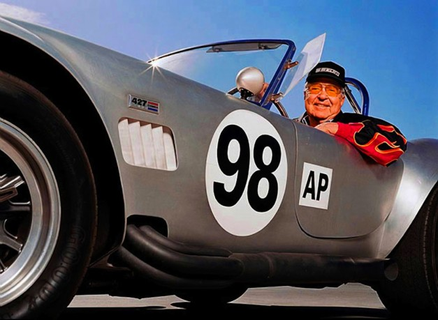 Carroll Shelby in Cobra Racer