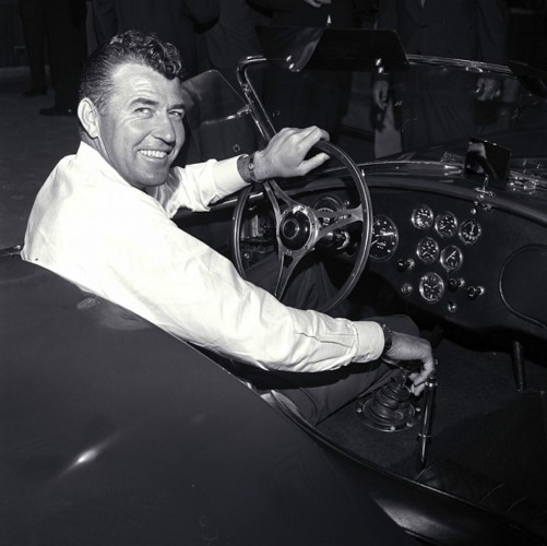 Carroll Shelby in Cobra