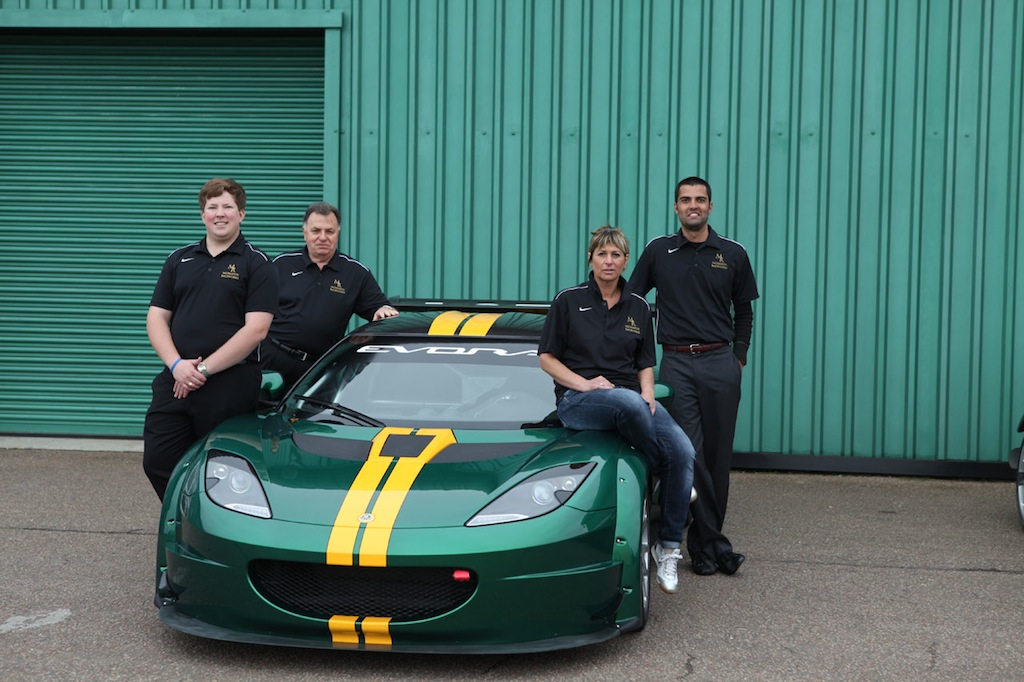 Lotus Evora GTC and Team