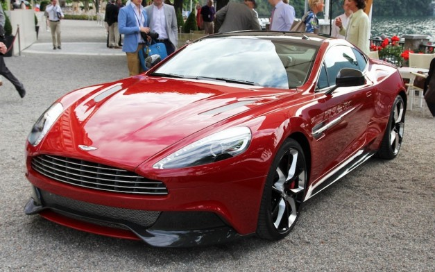 Aston Martin AM310 Concept Front 3/4 View