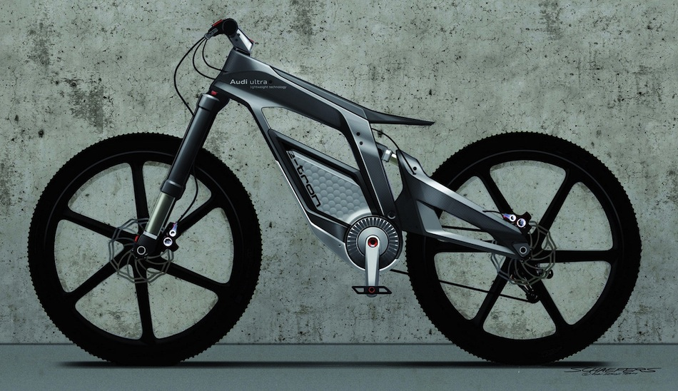 audi e bike prototype egmcartech. Black Bedroom Furniture Sets. Home Design Ideas