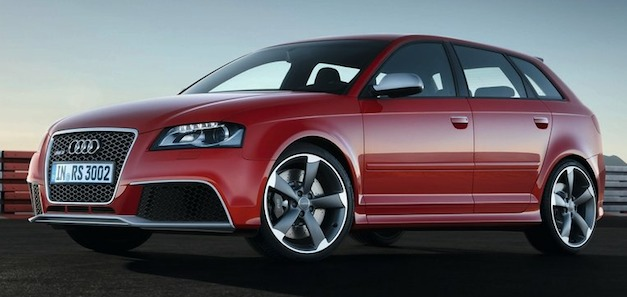 Report: Audi is preparing an RS3 Sportback, due sometime next year