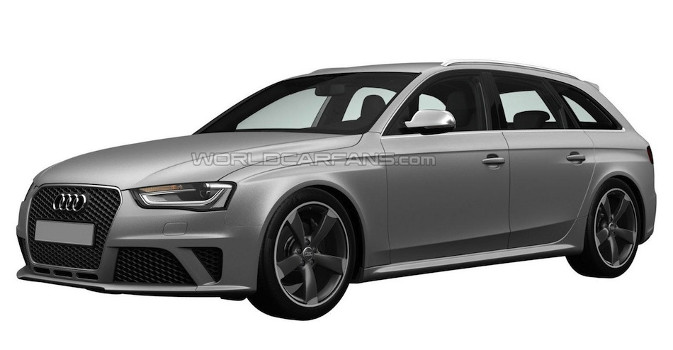 Audi RS6 Avant Patent Drawings