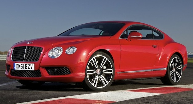 2013 Bentley Continental GT V8 hits 24 mpg on the highway