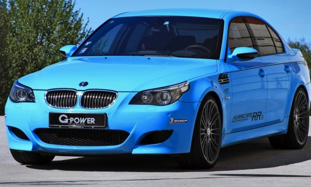 G-Power celebrating 100th unit of BMW M5 Hurricane with 819-hp