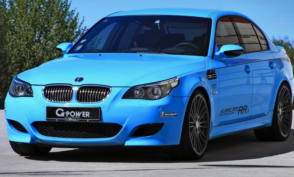 G-Power BMW M5 Hurricane RR 819