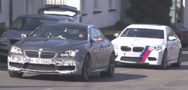 Video: BMW M6 Gran Coupe prototype hits up Nurburgring