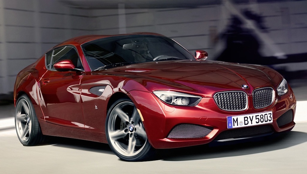 BMW Zagato Coupe Action Main
