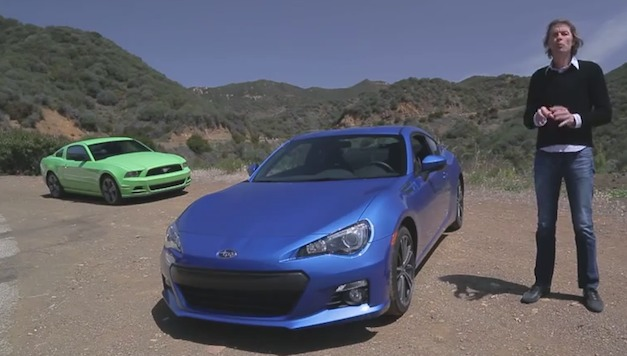 Video: Motor Trend pins the Subaru BRZ against the Ford Mustang V6