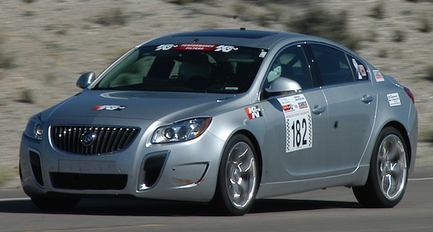 2012 Buick Regal GS hits 162 mph at Nevada Open Road Challenge