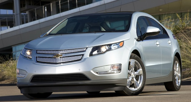 chevroletvoltsilver Report: Chevy Volt sales up so far in 2012, Nissan LEAF sales down