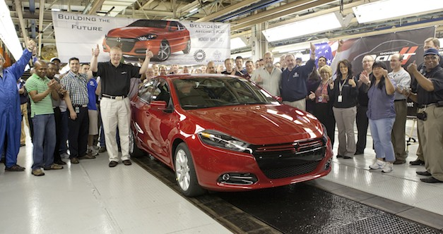 2013 Dodge Dart Production