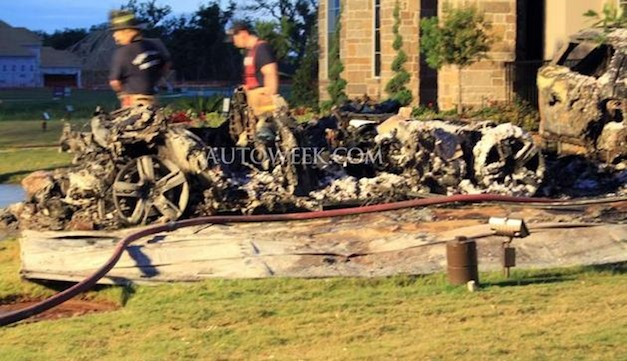 Report: Officials blame Fisker Karma in Texas home fire, Acura NSX damaged in fire as well