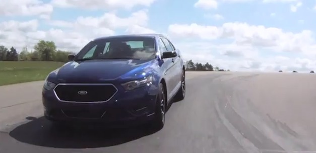 Video: Ford Taurus SHO Performance Package could let you have some fun on the track