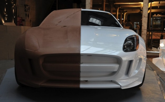 Jaguar displays one-of-a-kind C-X16 Concept in clay form at Clerkenwell Design Week
