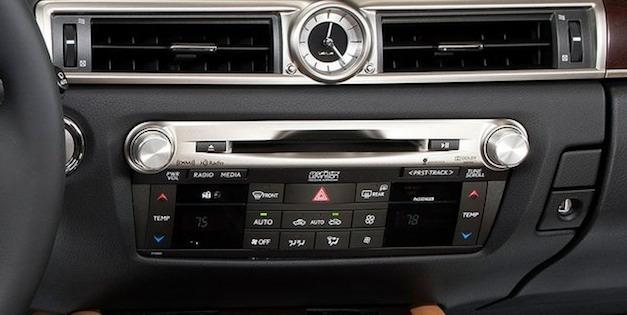 Lexus GS CD Player