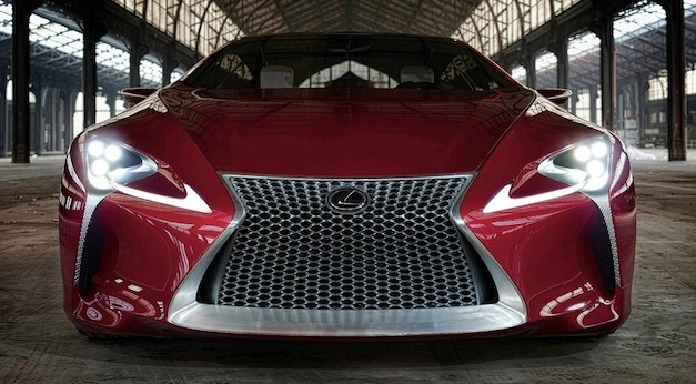 Report: Lexus to add GS coupe, compact five-seat crossover, and production LF-LC to lineup