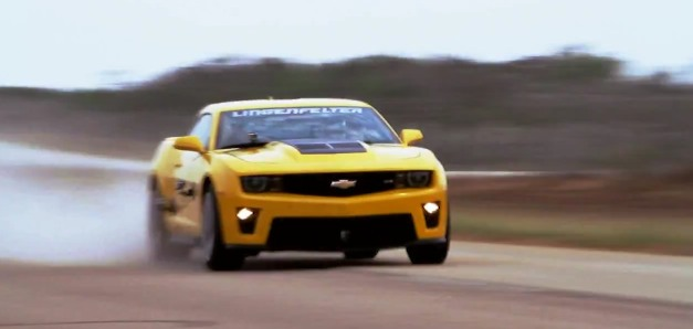 Video: Watch the Lingenfelter Chevrolet Camaro ZL1 hit 202 mph