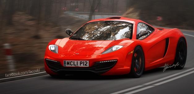 McLaren P12 Rendering
