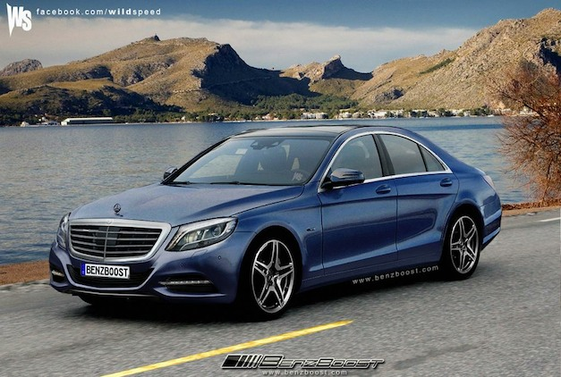 Until Mercedes-Benz officially unveils the new S-Class sedan, we'll